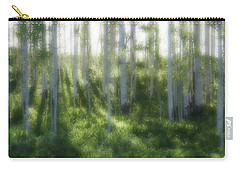 Aspen Morning 2 Carry-all Pouch by Marie Leslie