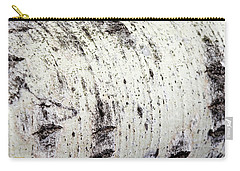 Carry-all Pouch featuring the photograph Aspen Tree Bark by Christina Rollo