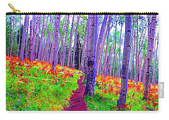 Aspens In Wonderland Carry-all Pouch
