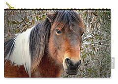 Assateague Island Pony Patricia Irene Carry-all Pouch