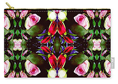 Assortment Of Flower  Carry-all Pouch