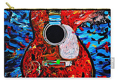 Asteroid Guitar Carry-all Pouch