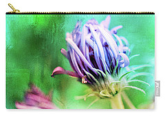 Asters Gone Wild 2 Carry-all Pouch