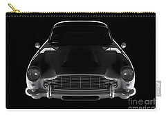 Aston Martin Db5 - Front View Carry-all Pouch
