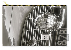 Carry-all Pouch featuring the photograph Aston Martin Db5 Smart Phone Case by John Colley