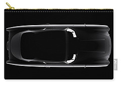 Aston Martin Db5 - Top View Carry-all Pouch