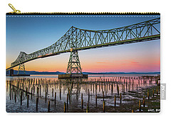 Astoria Megler Bridge Carry-all Pouch