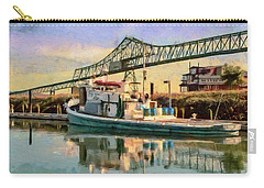 Astoria Waterfront, Scene 1 Carry-all Pouch by Jeff Kolker