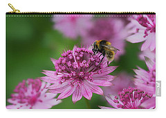 Carry-all Pouch featuring the photograph Pollination by Shirley Mitchell