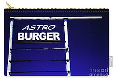 Carry-all Pouch featuring the photograph Astro Burger by Jim and Emily Bush