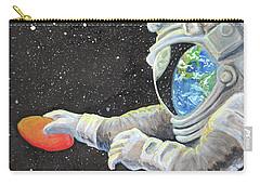 Astronaut Disc Golf Carry-all Pouch