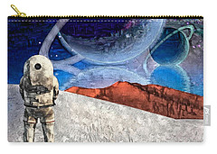 Astronaut On Exosolar Planet Carry-all Pouch