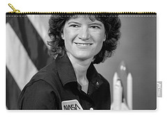 Astronaut Sally Ride  Carry-all Pouch by War Is Hell Store