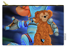 Astronaut Training Bear Mp Carry-all Pouch