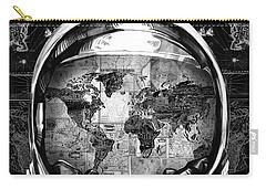 Astronaut World Map 1 Carry-all Pouch by Bekim Art