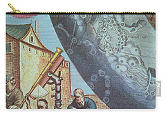Astronomers Looking Through A Telescope Carry-all Pouch by Andreas Cellarius