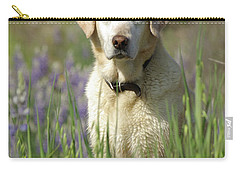 Carry-all Pouch featuring the photograph At Attention by Jim and Emily Bush