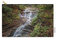 Carry-all Pouch featuring the photograph At Bridal Veil Falls by Dale Kincaid
