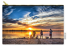 Carry-all Pouch featuring the photograph At Days End by Phil Mancuso