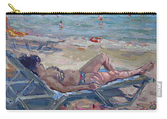 At Dilesi Beach Athens Carry-all Pouch