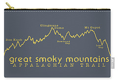 At Elevation Profile Gsm Mustard Carry-all Pouch by Heather Applegate