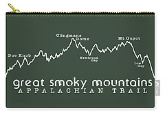 At Elevation Profile Gsm White Carry-all Pouch by Heather Applegate