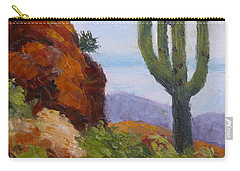 At Javelina Rocks Carry-all Pouch