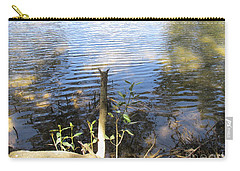 Carry-all Pouch featuring the photograph At Mangroves Edge by Dianne  Connolly