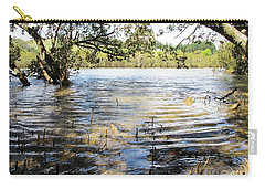 Carry-all Pouch featuring the photograph At Muddy Shady Mangroves 2 by Dianne  Connolly