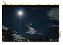 At Night Carry-all Pouch by Angela J Wright