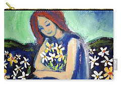 Carry-all Pouch featuring the painting At Peace by Winsome Gunning