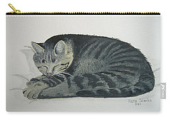 Carry-all Pouch featuring the painting At Rest by Norm Starks