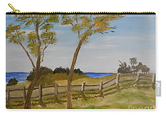 At Ruby's Bulli Carry-all Pouch by Pamela  Meredith