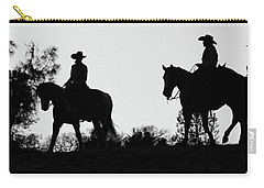 At Sunset On The Ranch Carry-all Pouch