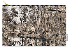 At Swamps Edge Carry-all Pouch by Kristin Elmquist