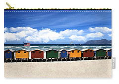 Carry-all Pouch featuring the photograph At The Beach by David Dehner