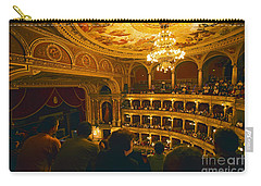 At The Budapest Opera House Carry-all Pouch by Madeline Ellis