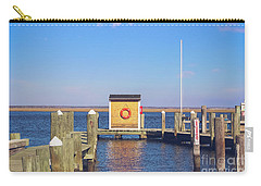 Carry-all Pouch featuring the photograph At The Dock by Colleen Kammerer