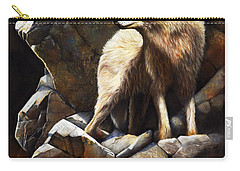 At The Edge Of Time Carry-all Pouch