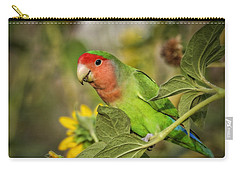 At The End Of The Rainbow  Carry-all Pouch by Saija  Lehtonen