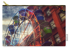 At The Feast Of San Gennaro - Reaching For The Sky Carry-all Pouch