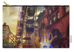 At The Feast Of San Gennaro - Rides Of Wonder Carry-all Pouch