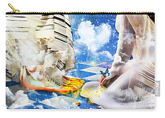 At The Feet Of Jesus Carry-all Pouch
