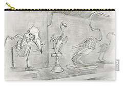 Bird Skeletons Carry-all Pouch