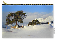 Carry-all Pouch featuring the photograph At The Peak by Shane Bechler