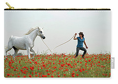 At The Poppies' Field... 2 Carry-all Pouch