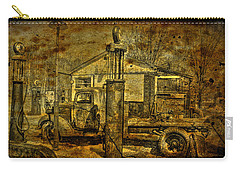 At The Pumps No.7009a1 Carry-all Pouch