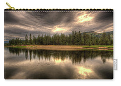 At The River Carry-all Pouch by Loni Collins