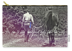 At The Show Quote Carry-all Pouch