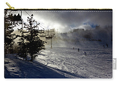 At The Ski Slope Carry-all Pouch